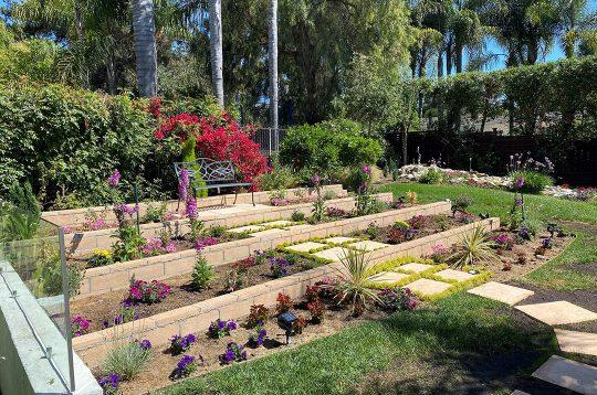 Tiered-Flower-Garden